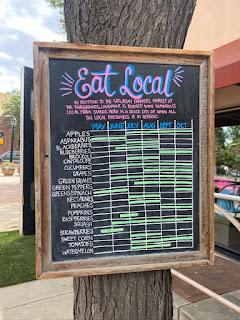 Eat Local Billboard