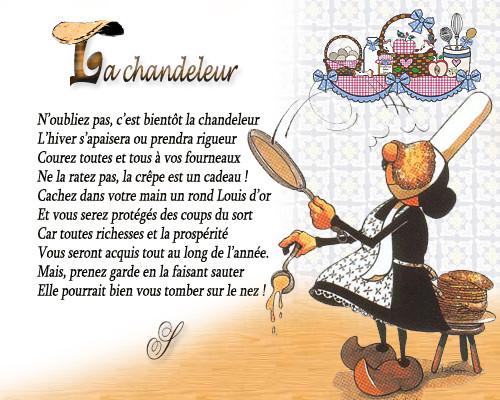 Chandeleur - wiersz 2 - Francuski przy kawie