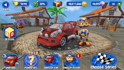 Beach Buggy Racing Mod Apk (Unlimited Money)
