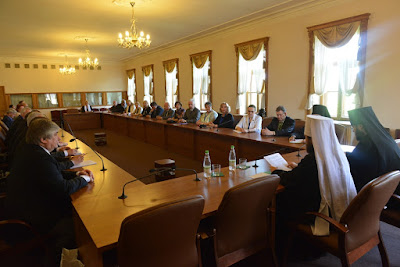 Митрополит Иларион встретился с членами ВКСРС 1 июня 2016 года