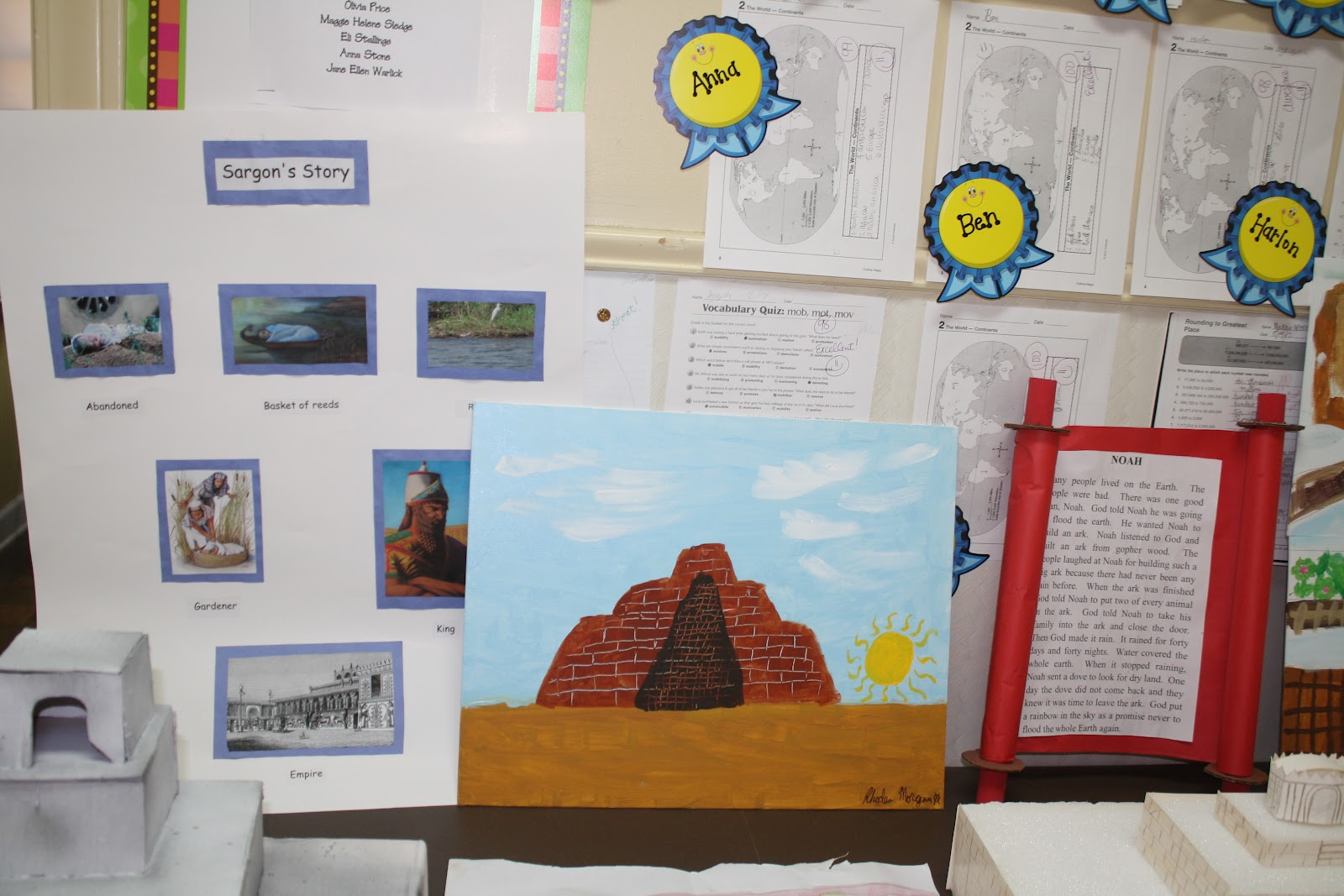 Pds 6th Grade Early Civilization Projects