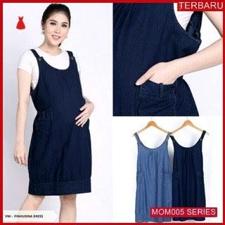 MOM005D35 Dress Overall Hamil Balon Menyusui Dresshamil Ibu Hamil