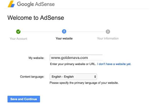 Adsense Arbitrage: Add your website Adsense