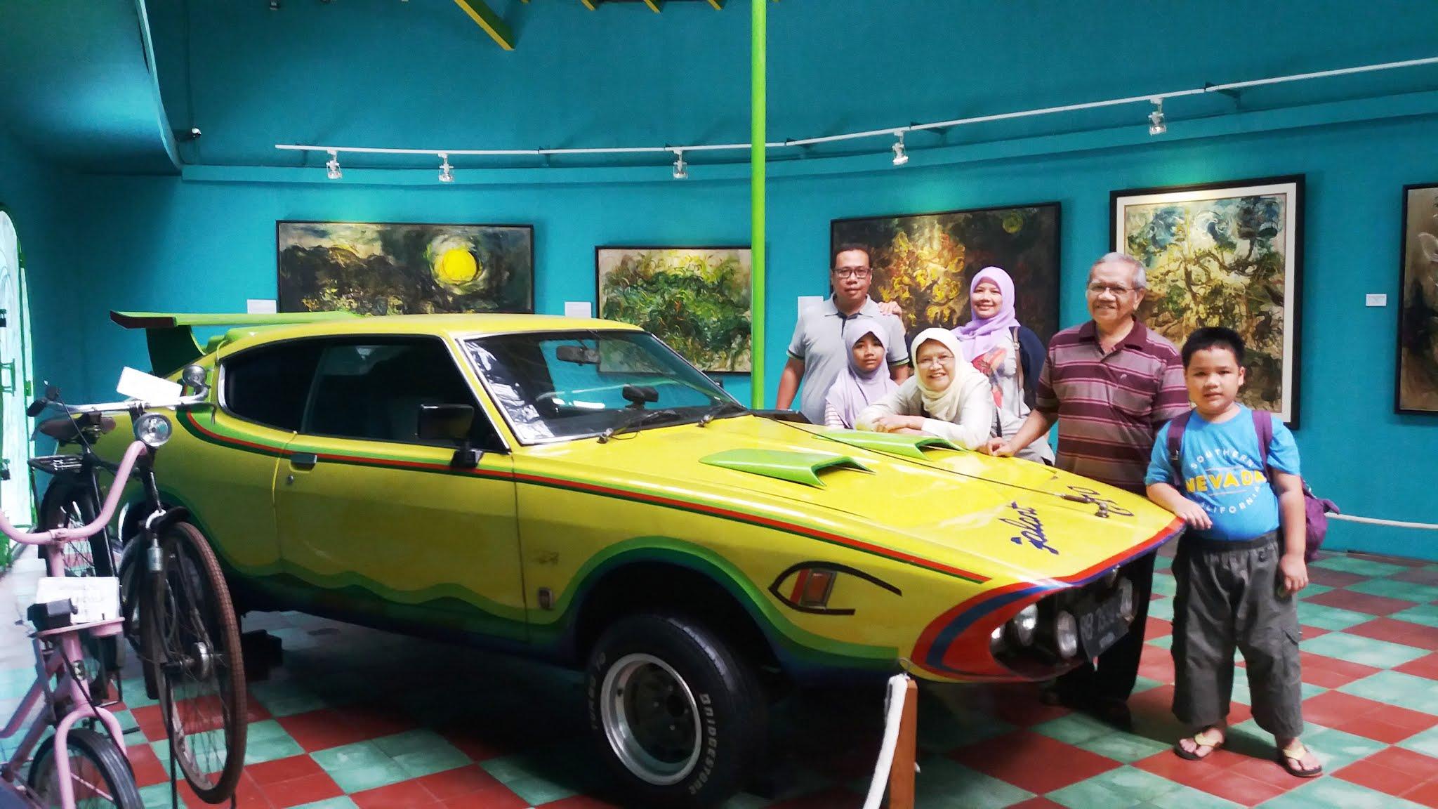 menikmati karya maestro lukis indonesia di museum affandi yogyakarta nurul sufitri travel blogger lifestyle review