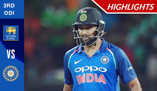 Cricket Highlights - Sri Lanka vs India 3rd ODI 2017