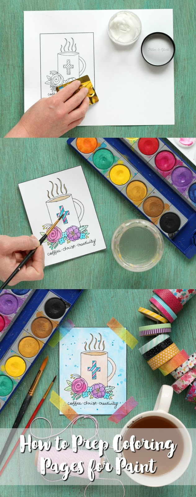 how to prep coloring pages for paint learn how to prepare coloring pages for watercolor