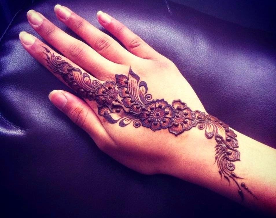 Mehndi Designs Hd : New latest arabic mehndi designs hd design
