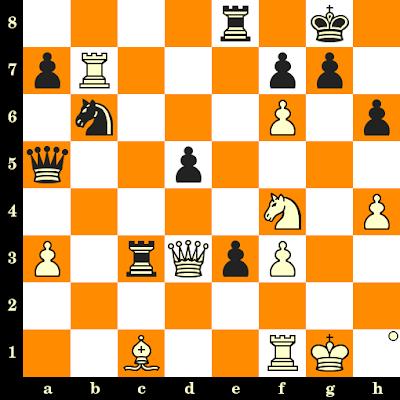 Les Blancs jouent et matent en 3 coups - David Bronstein vs Efim Geller, Moscou, 1961