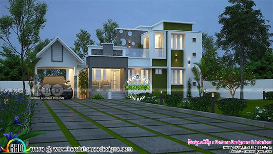 beautiful modern 3 bedroom house 2300 sq-ft