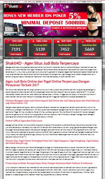 LIVE CHAT SHAKTI 4D