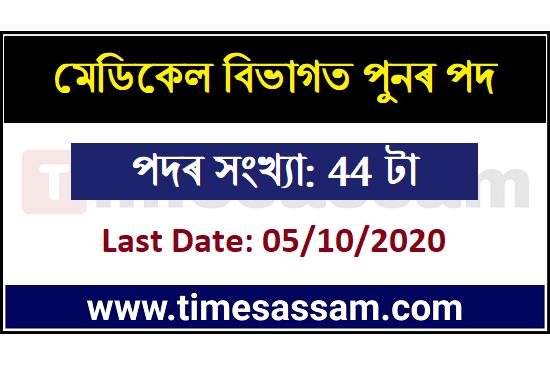 MHRB, Assam Jobs 2020