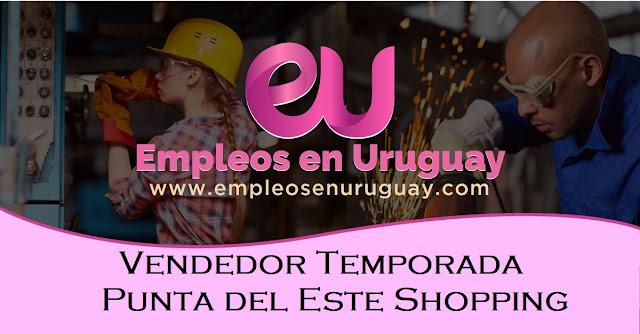 Vendedor Temporada - Punta del Este Shopping
