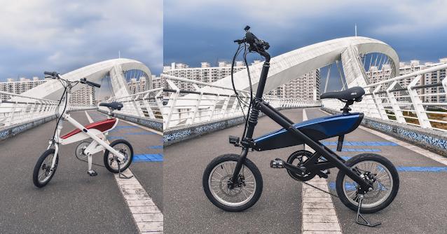 imiro 電動自行車,在陽光橋