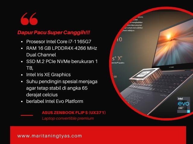 prosesor, ram dan chip grafis asus ux371