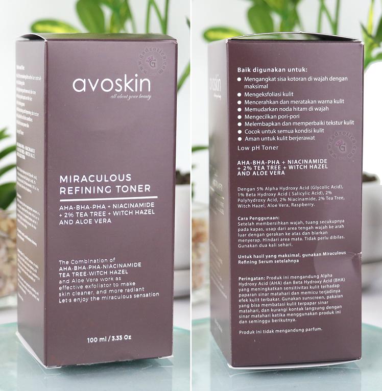 Avoskin Miraculous Refining Toner Review