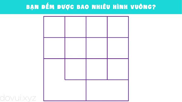 đếm ô vuông trong hình