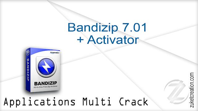 Bandizip 7.01 + Activator