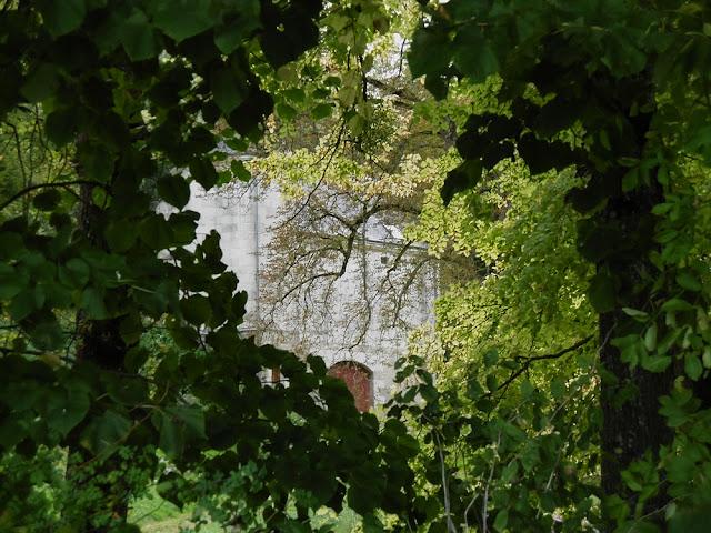 Glimpse of part of the Chateau de la Roche-Berthault, Indre et Loire, France. Photo by Loire Valley Time Travel.