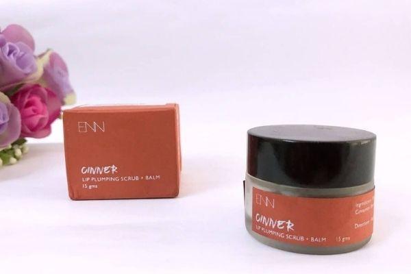 ENN Cinner Lip Plumping Scrub + Balm