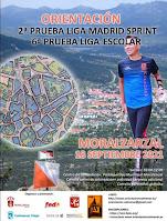2ª prueba de la Liga Sprint y 6ª Liga Escolar -Moralzarzal - 18 de septiembre