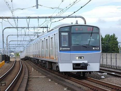 【ダイヤ改正で新設!】8000系通勤急行 横浜行き