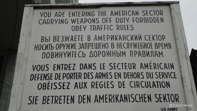 Checkpoint Charlie - Berlim