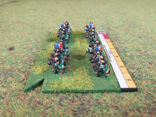 French Dragoon Cavalry in 6mm by Baccus