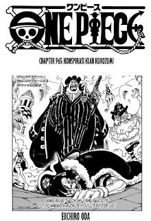 Update! Baca Manga One Piece Chapter 965 Full Sub Indo