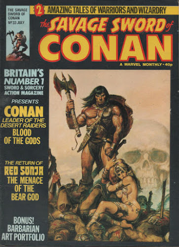 Savage Sword of Conan #33