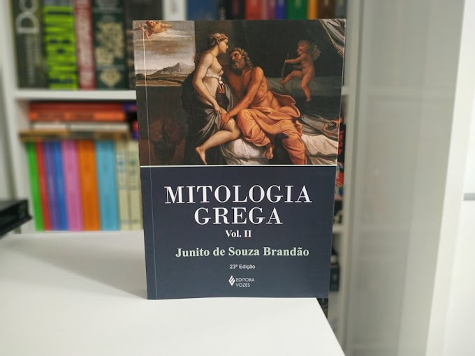 [RESENHA #804] MITOOGIA GREGA (VOL. 2) - JUANITO DE SOUZA BRANDÃO