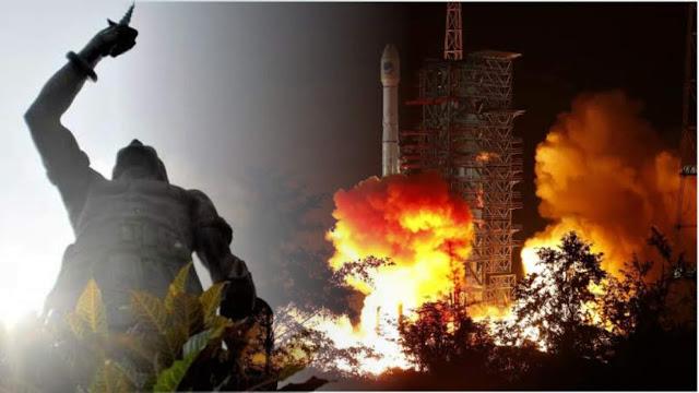 Roket China Meledak
