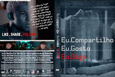 Filme Eu Compartilho. Eu Gosto. Eu Sigo. (Like. Share. Follow.) DVD Capa