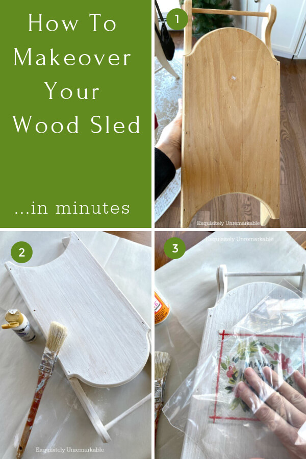 How To Makeover Your Wooden Sled