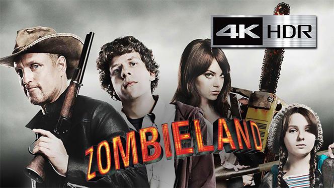 Zombieland – Tierra de Zombies (2009) 4K UHD [HDR] Latino-Castellano-Ingles