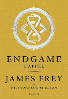 Couverture - Endgame - tome 1 - james frey - nils johnson-shelton
