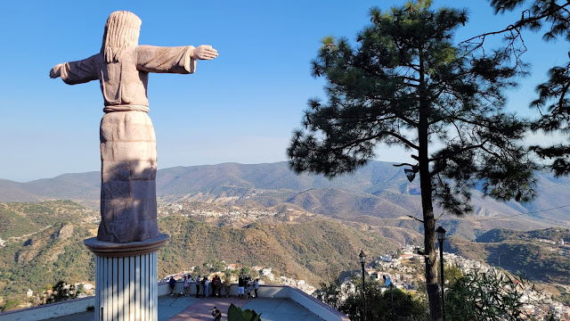 Christ the Redeemer statue in Taxco