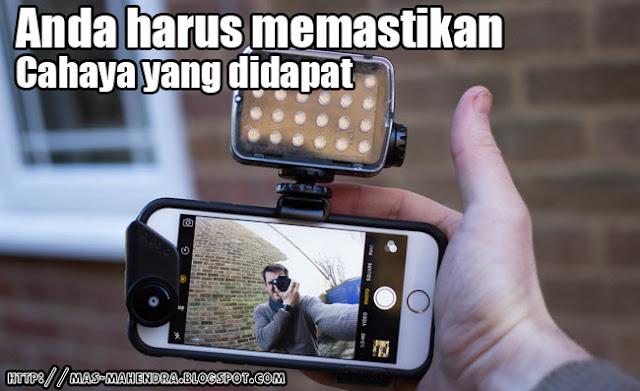 Effek Cahaya untuk bikin Video