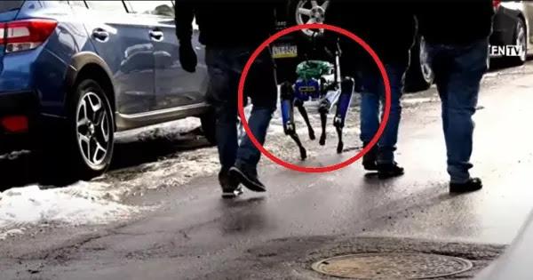 Ρομπότ μαζί με αστυνομικούς για έφοδο σε σπίτια - «Είναι τρομακτικό» καταγγέλλουν κάτοικοι (βίντεο)