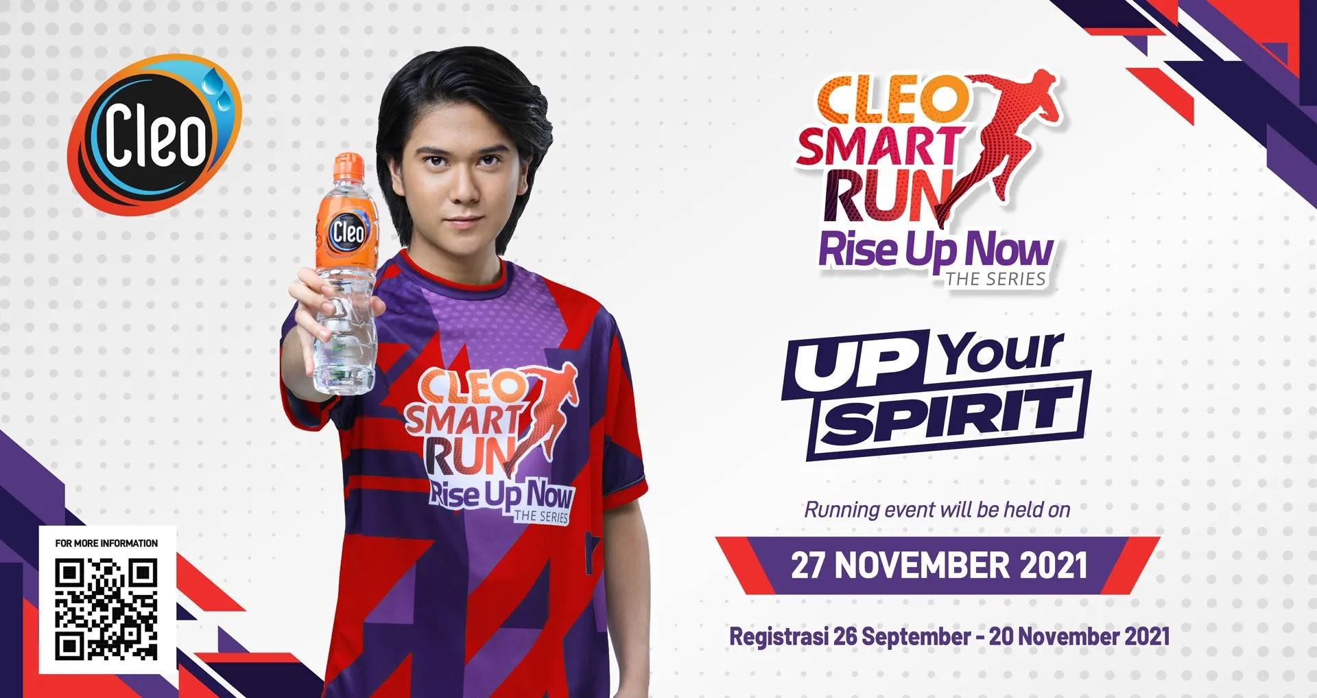 Cleo Smart Run - Up Your Spirit • 2021