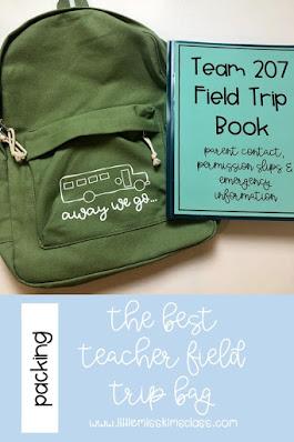 Field Trip Backpack for Teachers