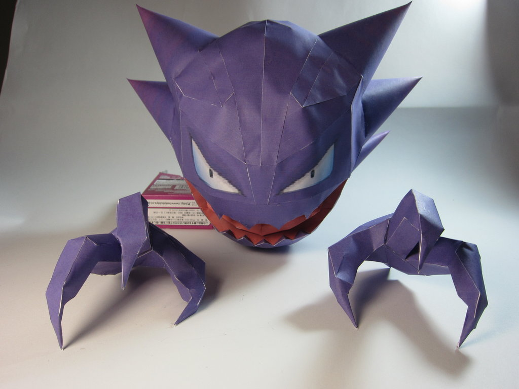 MONSTROS POKEMÓNS EM ORIGAMI | Game com Rapadura - photo#17
