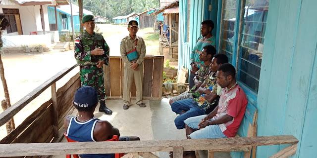 Satgas Yonif Raider 509 Kostrad Bantu Warga PNG Bersekolah di Indonesia