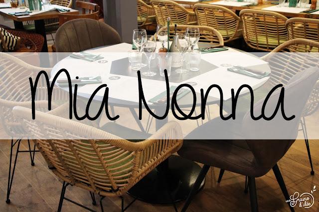Mia Nonna Restaurant Nantes Avis Cuisine Italienne Stracciatella Antipasti Pizza Burrata
