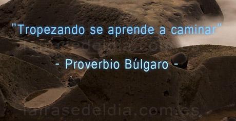 Proverbio Búlgaro