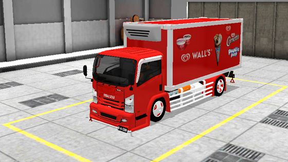 livery mod truck isuzu nmr71 box bussid tenonet