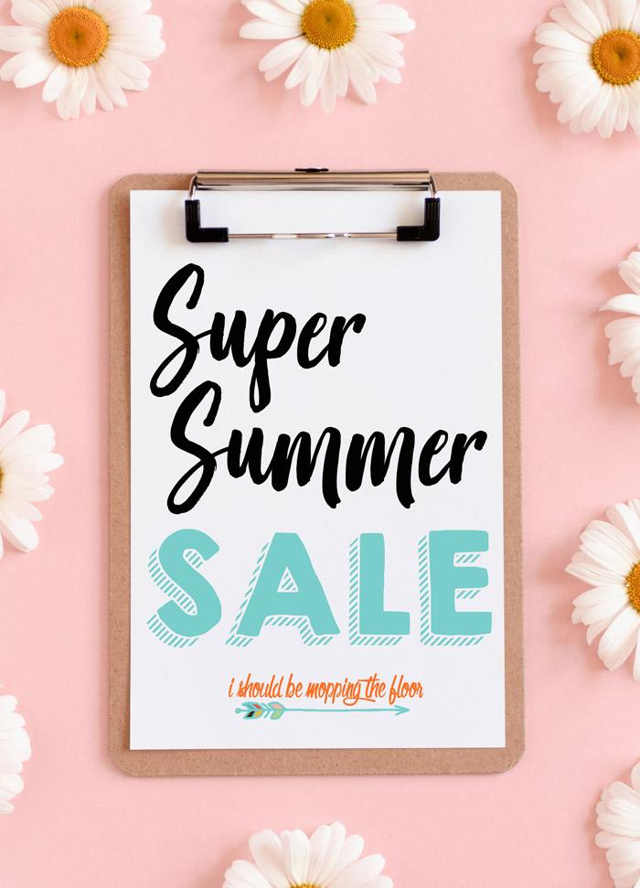 Printable Sale