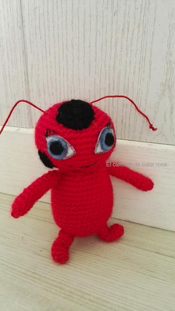 amigurumi tikki prodigiosa ladybug