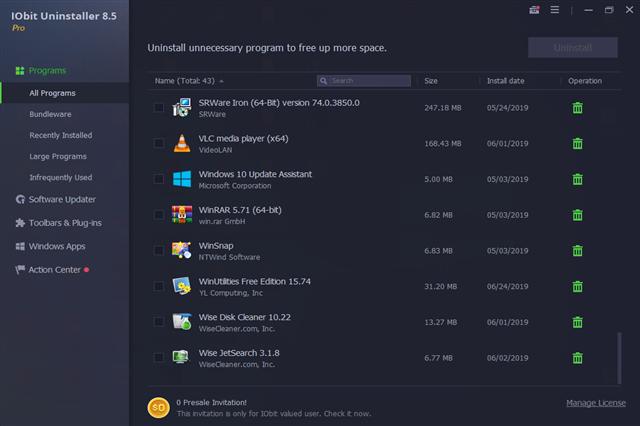 تحميل برنامج IObit Uninstaller Pro  8.6.0.6 للويندوز