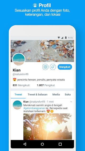 Download Aplikasi Twitter Lite