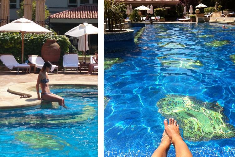 Euriental | Istanbul, Turkey. Pool at Grand Hyatt